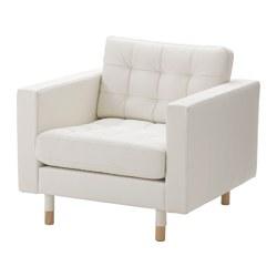 Кресла с обивкой из кожи/искусственной кожи