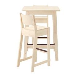 НОРРОКЕР комплект стол+стул